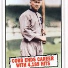 Ty Cobb Trading Card Single 2010 Topps Heritage #407
