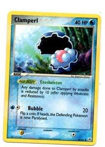 Clamperl Common Trading Card Pokemon Hidden Legends #38/101 x1