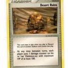 Desert Ruins Unommon Trainer Pokemon Hidden Legends 88/101 x1 Unplayed
