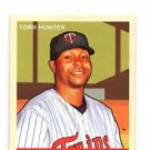 Torii Hunter Red Back SP Trading Card Single 2007 UD Goudey #28 Twins