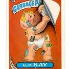 G.P. Kay Checklist Sticker 1986 Topps Garbage Pail Kids #248b NMMT