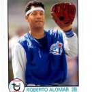 Roberto Alomar Trading Card Single 2016 Topps Archives #112 Blue Jays
