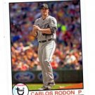 Carlos Rodon Trading Card Single 2016 Topps Archives #134 White Sox