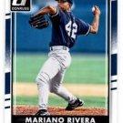 Mariano Rivera Trading Card Single 2016 Donruss 176 Yankees