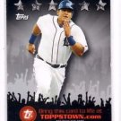 Miguel Cabrera Topps Town Trading Card Single 2009 Topps #TTT18 Tigers NMT