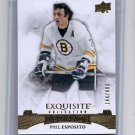 Phil Esposito Exquisite Insert 2015-16 Upper Deck Ice #41 Bruins 144/499