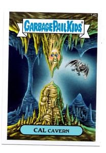 Cal Cavern Trading Card Single 2015 Topps Garbage Pail Kids #14b