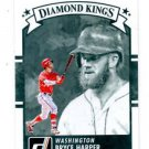 Bryce Harper Diamond Kings Trading Card Single 2016 Donruss #30 Nationals