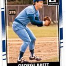 George Brett Trading Card Single 2016 Donruss 182A Royals