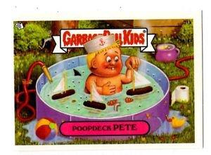 Poop Deck Pete Trading Card 2004 Topps Garbage Pail Kids #11a