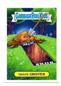 Grave Grover Single 2015 Topps Garbage Pail Kids #29a