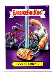 Locked Lorne Single 2015 Topps Garbage Pail Kids #19b