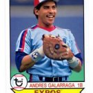 Andres Galarraga Trading Card 2016 Topps Archives #191 Expos