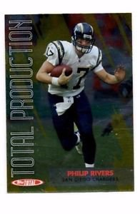 Philip Rivers Total Production Trading Card Single 2007 Topps Total #TP9