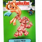 Naked Ned Single 2015 Topps Garbage Pail Kids #58b