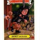 Janet Jackass Trading Card Single 2004 Topps Garbage Pail Kids #40a