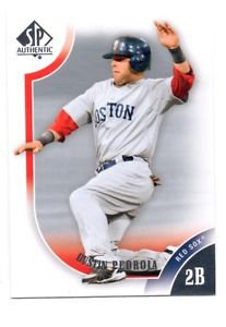 Dustin Pedroia Trading Card Single 2009 Upper Deck Sp Authentic #15 Red Sox