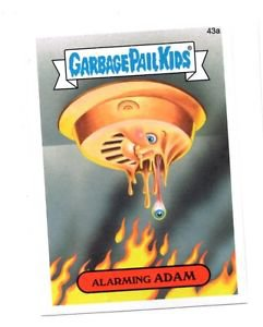 Alarming Adam Single 2015 Topps Garbage Pail Kids #43a