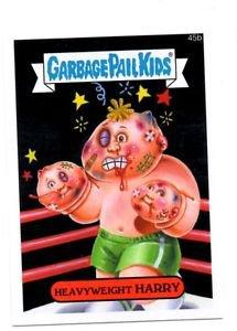 Heavyweight Harry Single 2015 Topps Garbage Pail Kids 45b