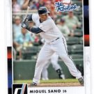 Miguel Sano The Rookies Insert 2016 Donruss #TR5 Twins
