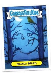 Branch Brad Single 2015 Topps Garbage Pail Kids #44a