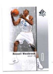 Russell Westbrook Trading Card Single 2011-12 SP Authentic #9