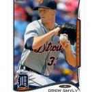 Drew Smyly Trading Card Single 2014 Topps Mini Online Exclusvie #381 Tigers