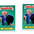 Will Street Juan Percent Single Lot 2013 Topps Garbage Pail Kids Mini #55a #55b