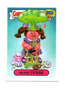Messie Tessie Adam Bomb Don't Push My Buttons 2015 Topps Garbage Pail Kids #3b