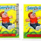 Cleansed Clem Enema Eric Lot 2015 Topps Garbage Pail Kids #40a 40b