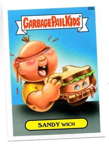 Sandy Wich Single 2015 Topps Garbage Pail Kids #55b
