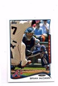 Brian McCann Trading Card Single 2014 Topps Mini #225