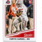 Curtis Samuel RC Trading Card Single 2017 Panini Classics #222