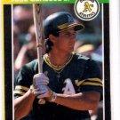 Jose Canseco Trading Card Single 1989 Donruss Bonus Card Athletics EX+