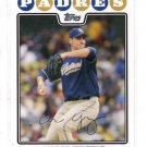 Chris Young Trading Card Single 2008 Topps #55 Padres