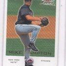 Mike Hampton Trading Card Single 2001 Fleer Focus 192 Mets