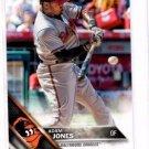 Adam Jones Trading Card Single 2016 Topps #201 Orioles