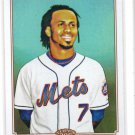 Jose Reyes Trading Card Single 2010 Topps 206 #282 Mets