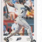 Fred McGriff Trading Card 2001 Fleer Focus #184 Rays