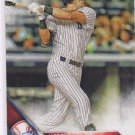 Jacoby Ellsbury Trading Card Single 2016 Topps #167 Yankees