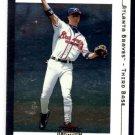 Chipper Jones Trading Card Single 2001 Fleer Premium #73 Braves NMT