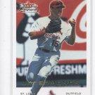 Jim Edmonds Trading Card Single 2001 Fleer Focus #58 Cardinals