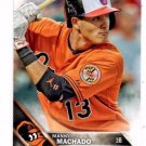 Manny Machado Trading Card Single 2016 Topps 175 Orioles