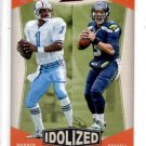 Warren Moon Russell Wilson Idolized Single 2017 Classics #19