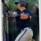 Jacob Nottingham Trading Card Single 2016 Bowman Chrome #BSUJN Brewers