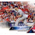 Corey Kluber Trading Card 2016 Topps #64 Indians