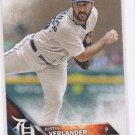 Justin Verlander Trading Card Single 2016 Topps #255 Tigers