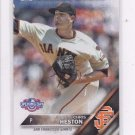 Chris Heston Trading Card Single 2016 Topps Opening Day #OD83 Giants