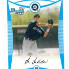 Alex Liddi Trading Card Single 2008 Bowman BP63 Mariners