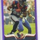 Andre Johnson Purple Refractor Trading Card 2013 Topps Chrome #85 Texans